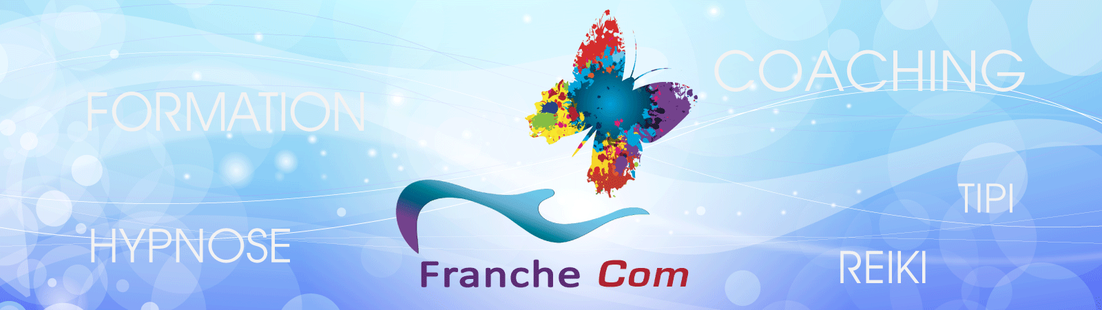 logo Franche com formation coaching hypnose humaniste TIPI reiki et Lahochi