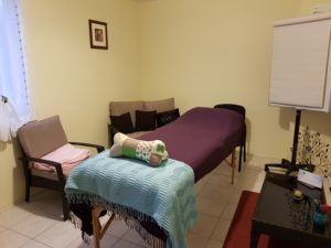 table de massage Reiki Lahochi Franche Com